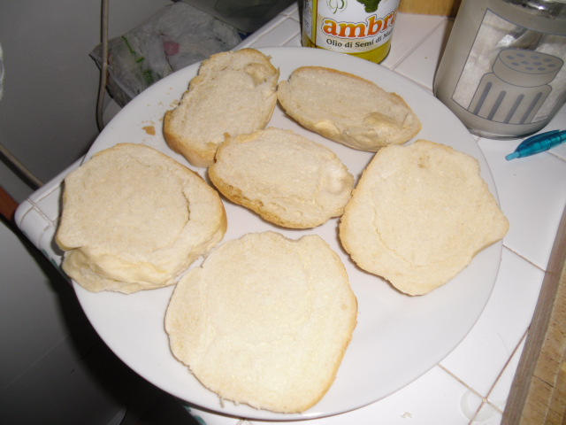 fette pane di un paio di giorni
