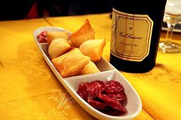 260px-Gnocco_fritto,_salame,_and_lambrusco